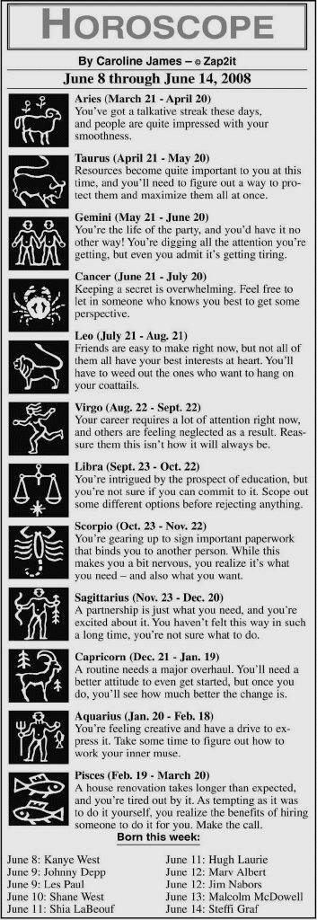 Ex Horoscope