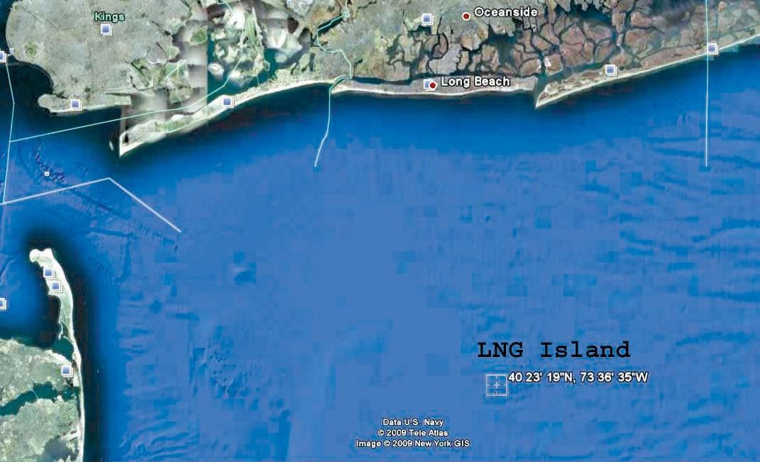 Did Jersey Gov Kill LNG Island?   The Wave